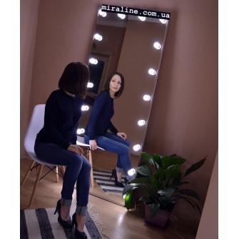 Зеркало в полный рост Серебро