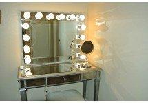 Гримерное зеркало с лампочками  украина
