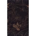 Флора черная глянец