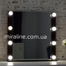 """Гримерное зеркало """"Джулай Dark"""" ВШГ 60Х60Х4.5 СМ"""