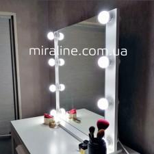"""Гримерное зеркало """"Джулай"""" ВШГ 60Х60Х4.5 СМ"""