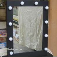 "Гримерное зеркало ""Хризолит"" ВШГ 80х65х4.5 см"