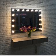 Зеркало для макияжа Кристал
