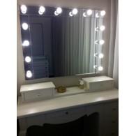 """Зеркало для макияжа """"Кристалл"""""""