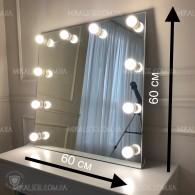 Гримерное зеркало Литл ВШГ 60х60х4.5 см