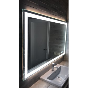"""Зеркало в ванную """"Миралайн"""" со светодиодной подсветкой"""