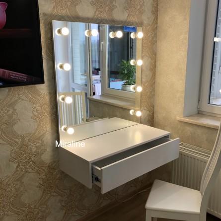 Тумба с зеркалом Пинк Ширина 70см  - картинка 2