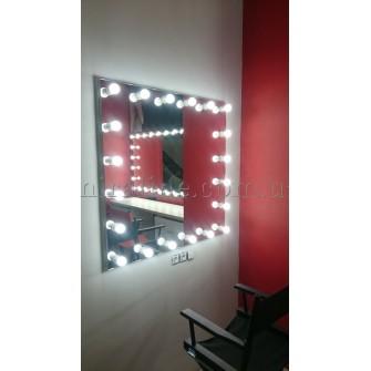"""Зеркало с подсветкой """"Maлахит"""""""