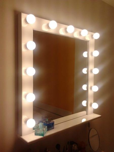 фото зеркало в интерьере гостиной