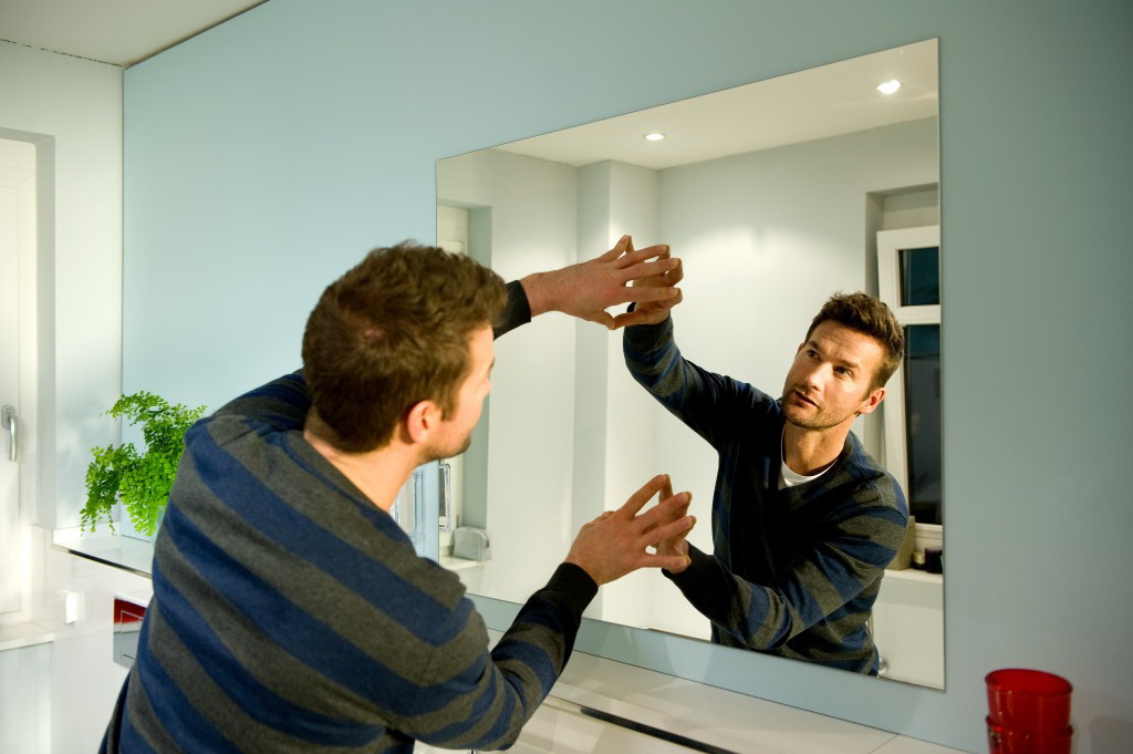 установка зеркал